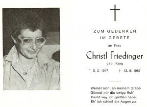 Friedinger Christl