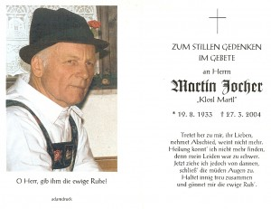 Jocher Martin