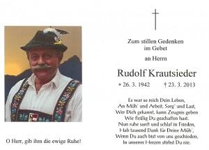 Krautsieder Rudolf