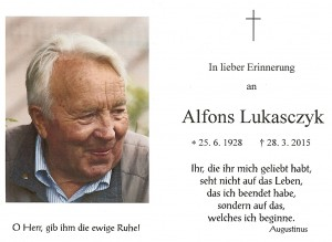 Lukasczyk Alfons