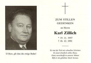 Zillich Karl