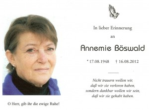 Böswald Annemie