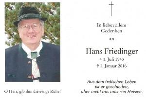 Friedinger Hans