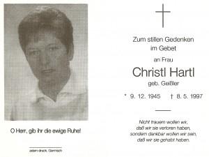 Hartl Christl