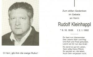 Kleinhappl Rudolf
