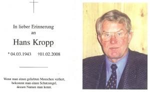 Kropp Hans