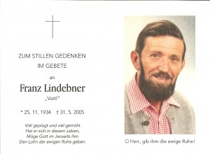 Lindebner Franz