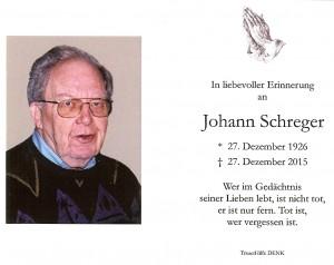 Schreger Johann