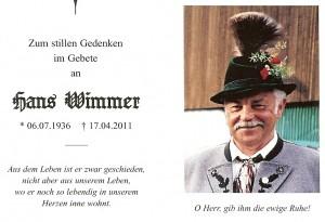Wimmer Hans